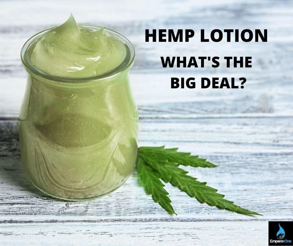 hemp lotion